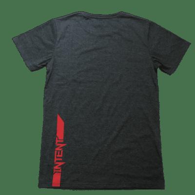 Framed T Shirt – Red/Grey