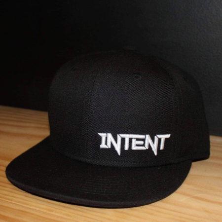 Black intent Mx SnapBack hat