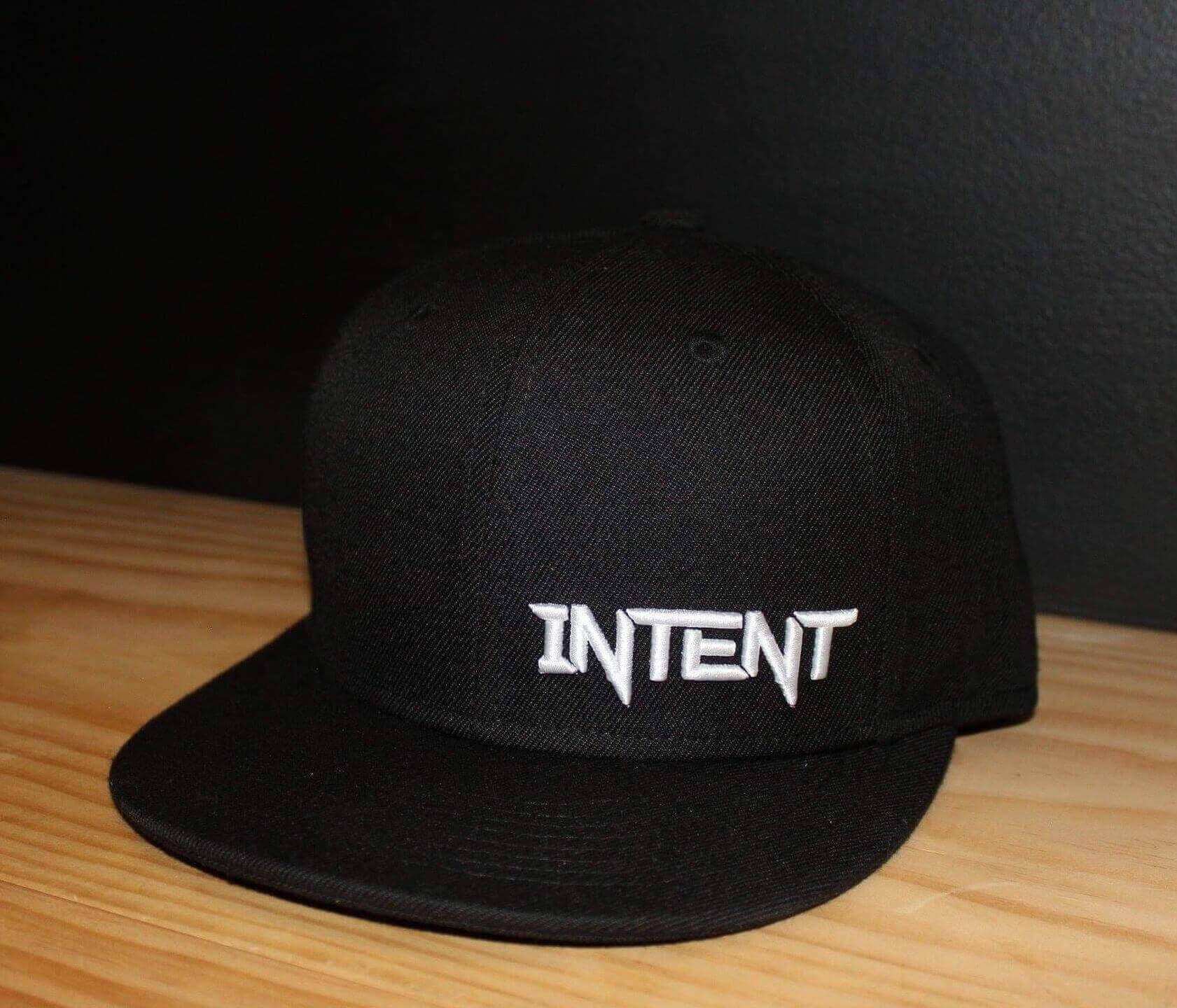 Intent Mx SnapBack Hat | Legacy – Black/Whits