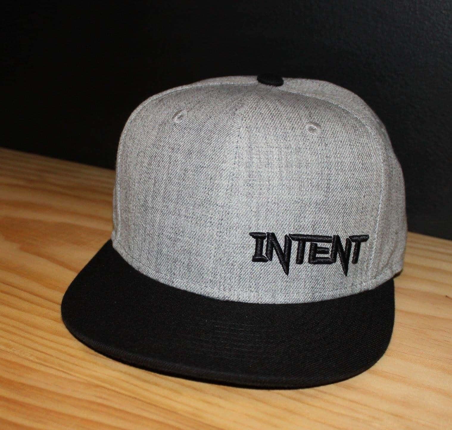 SnapBack Hats | Legacy- Grey/Black