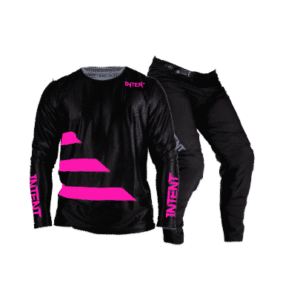 Infinite Moto Gear Set | Strike – Pink/Black
