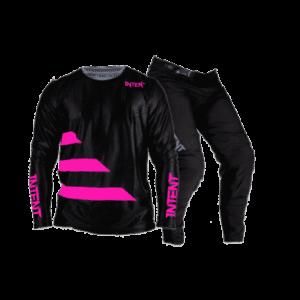 Infinite Moto Gear Set | Strike – Pink/Black