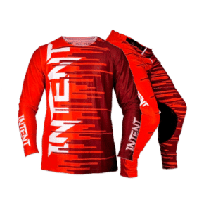 Infinite Moto Gear Set | Quake – Red/Maroon