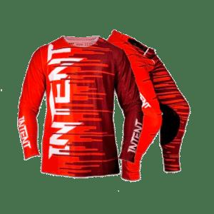 Infinite Moto Gear Set | Quake – Red/Maroon