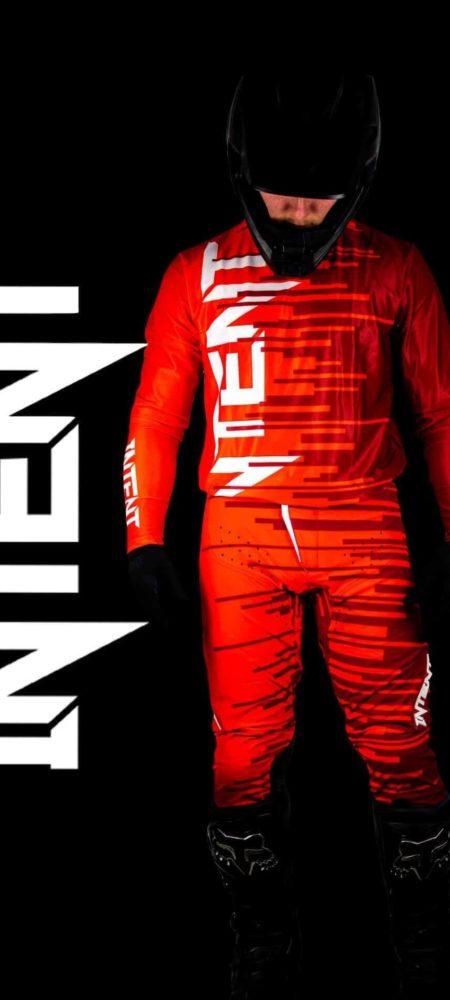 Infinite Moto Gear Set   Quake – Red/Maroon