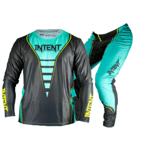 Infinite Moto Gear Set | Relapse – Teal/Grey