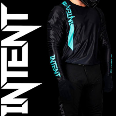 Intent black Jersey and pant . At Mx store