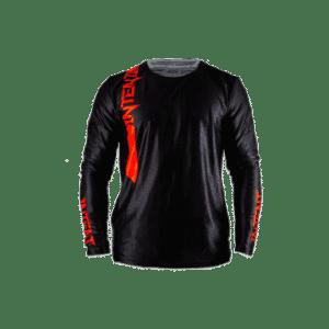 Infinite Moto Jersey | Pinned – Red/Black