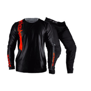 Infinite Moto Gear Set | Pinned – Red/Black