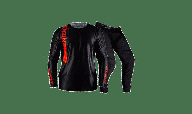 Infinite Moto Gear Set | Pinned – Black/Red