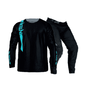 Infinite Moto Gear Set | Pinned – Teal/Black