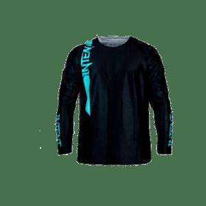 Infinite Moto Jersey | Pinned – Teal/Black