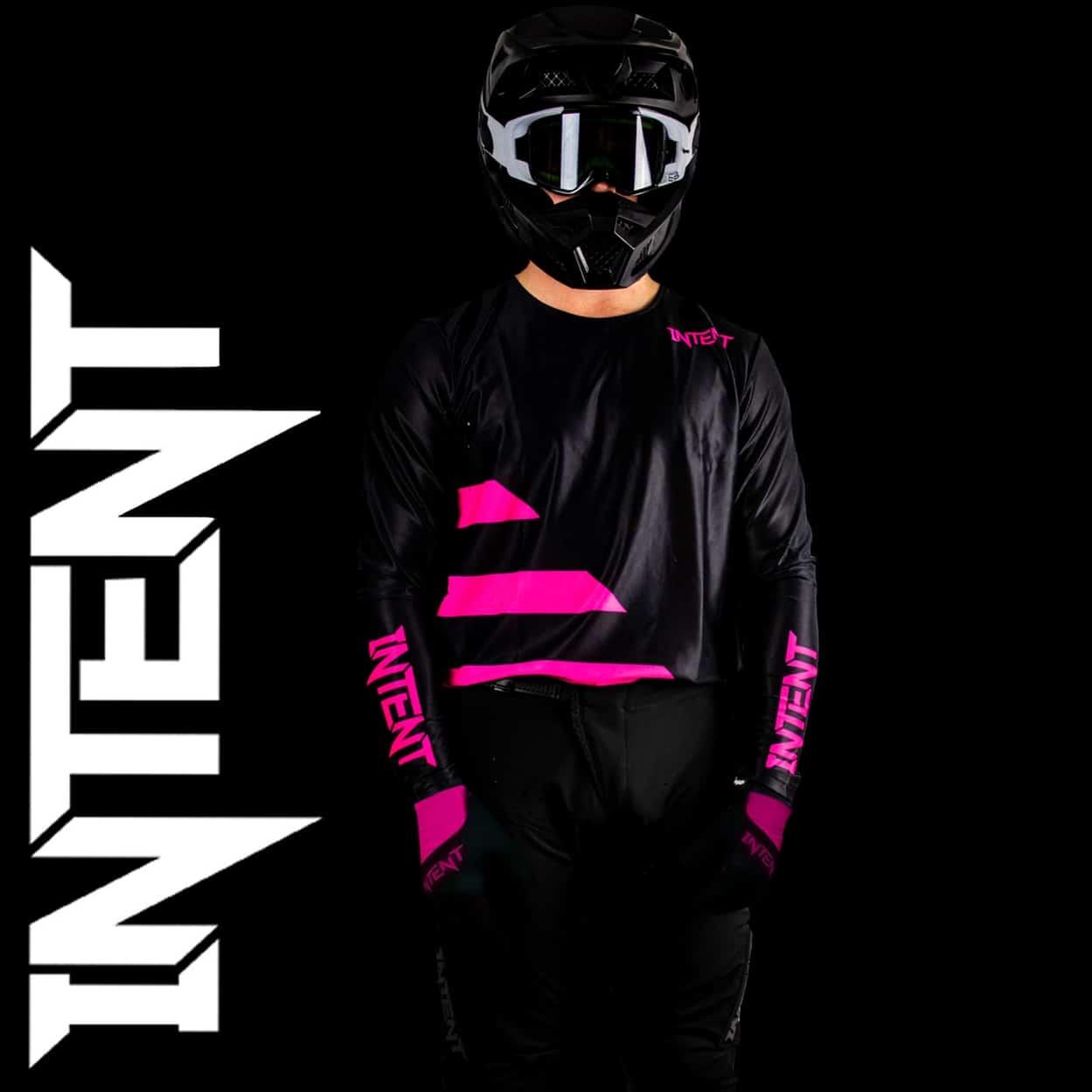 Infinite Moto Gear Set | Strike – Black/Pink