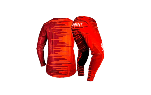 Infinite Moto Gear Combo | Quake – Red/Maroon