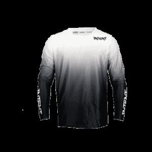Infinite BlackOut Moto Jersey | Drapht – White/Black