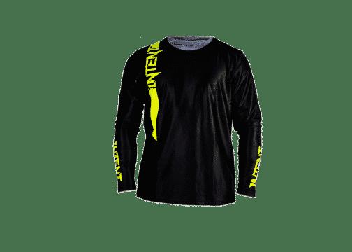 Infinite Moto Jersey | Pinned – FluoroYellow/Black