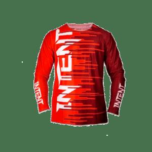 Infinite Moto Jersey | Quake – Red/Maroon