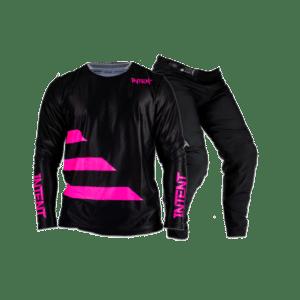 Infinite BO Strike – Flo Pink | Mx Gear, Mx Gloves & Optic Goggle Combo