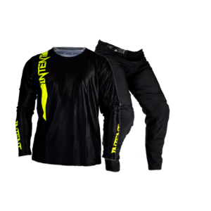 Infinite Moto Gear Combo | Pinned – Black/FloYellow