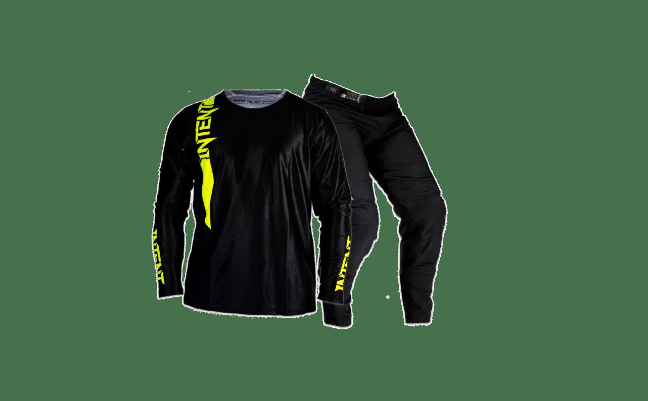 Intent Mx Infinite Mx Gear Combo | Pinned – Flo Yellow/Black