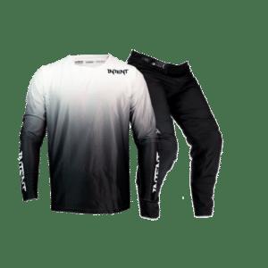 Infinite BO Drapht – White | Mx Gear, Mx Gloves & Optic Goggle Combo
