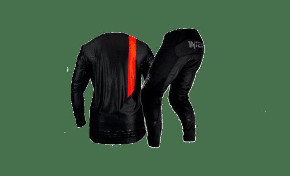 Infinite BlackOut Moto Gear Set | Pinned – Red/Black