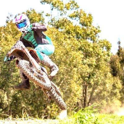 Moto Athlete Keaton Chamings