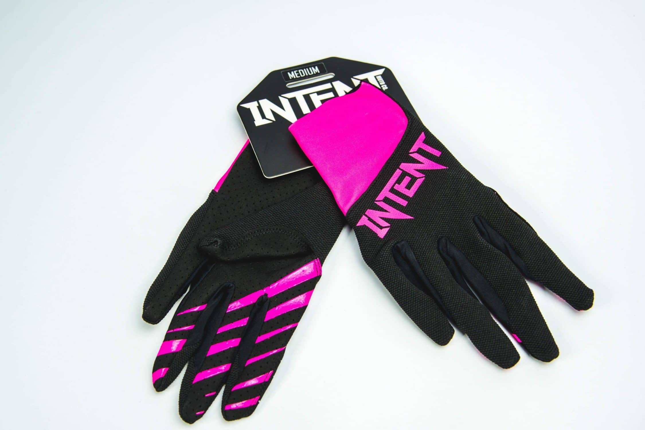 Intent Mx Legacy Motocross Glove – Pink/Black