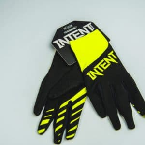 Infinite Moto Glove | Legacy – Black/FluoroYellow