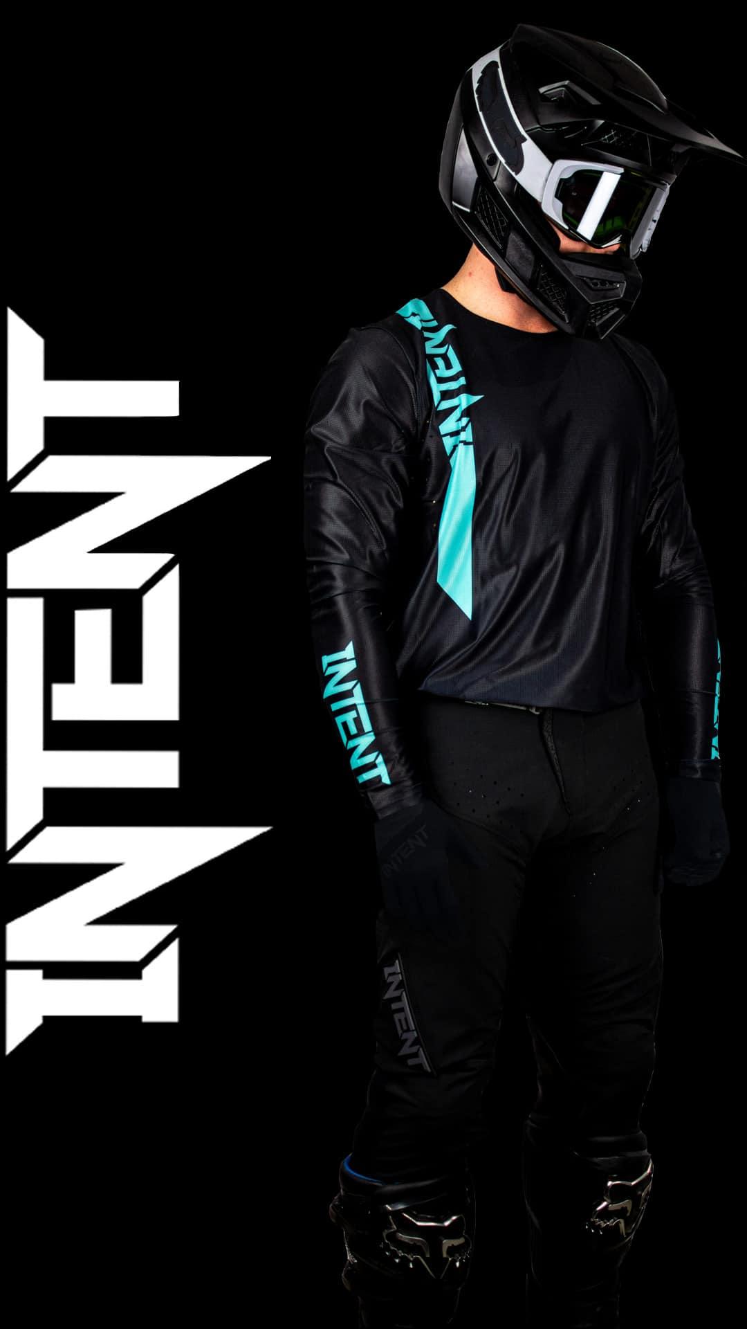 Infinite Moto Gear Set | Pinned – Teal/Black