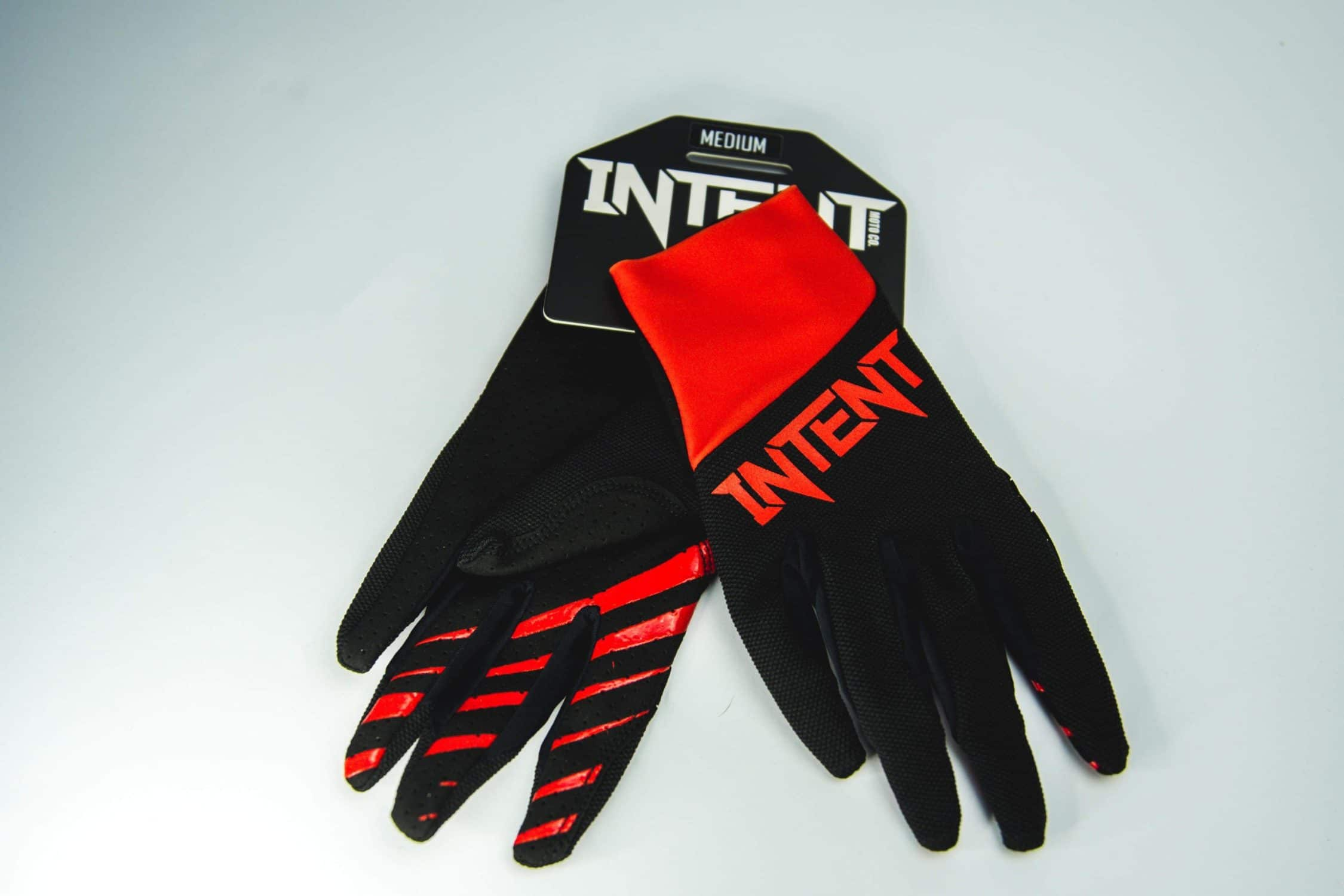 Intent Mx Legacy Motocross Glove – Red/Black