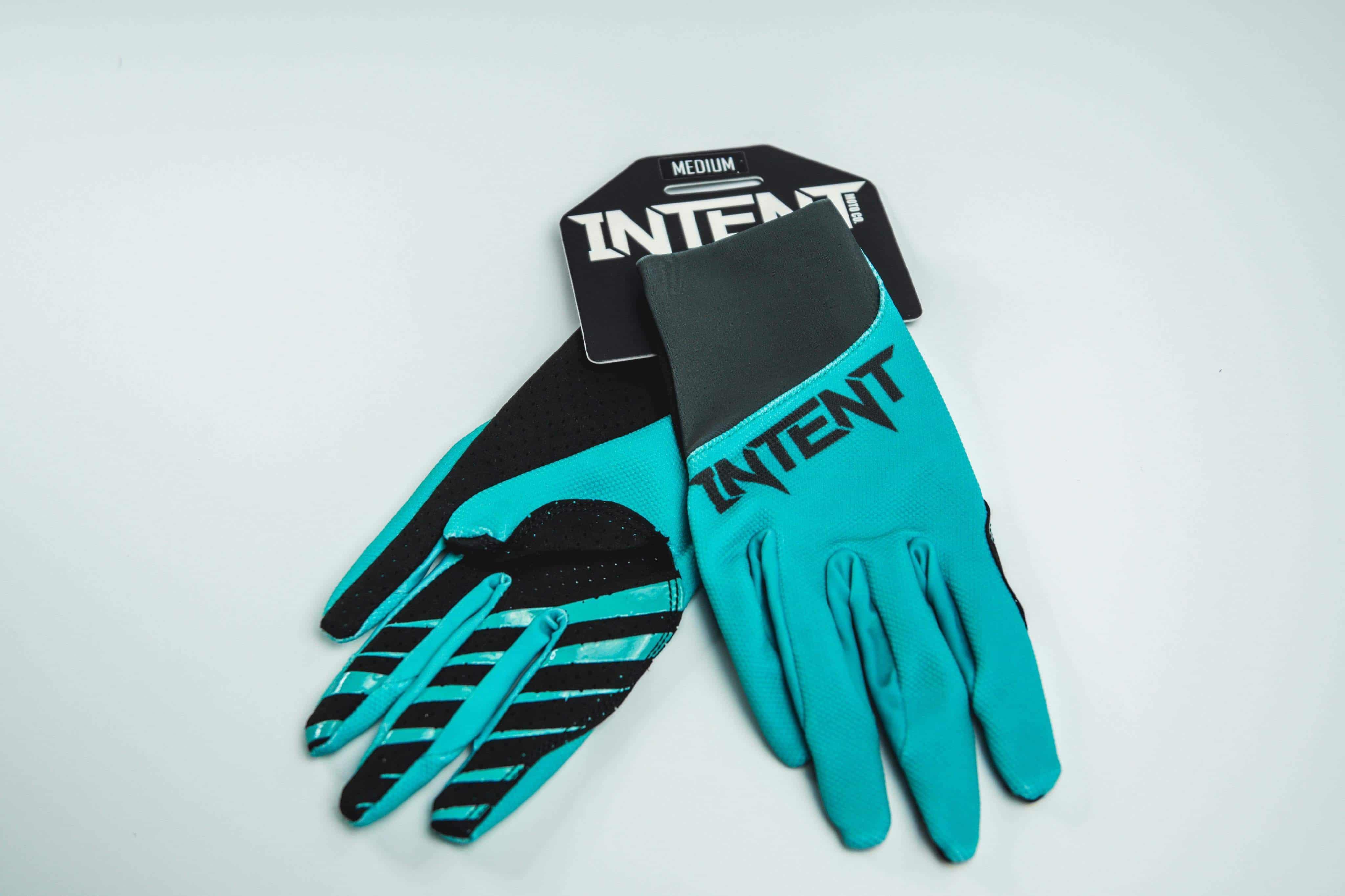 Intent Mx Legacy Glove – Teal/Grey