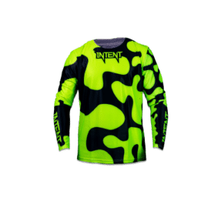 Infinite Moto Jersey | JigSaw – FloYellow/Black