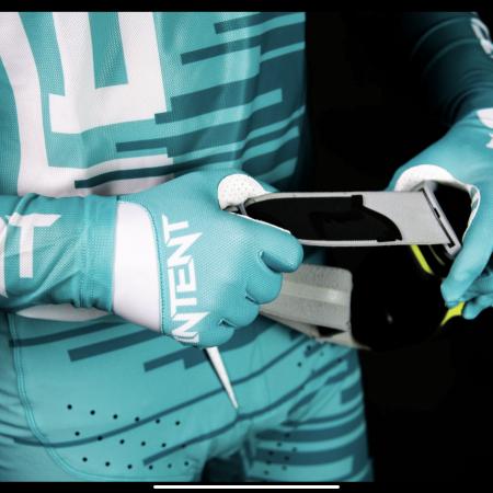 teal mx gloves