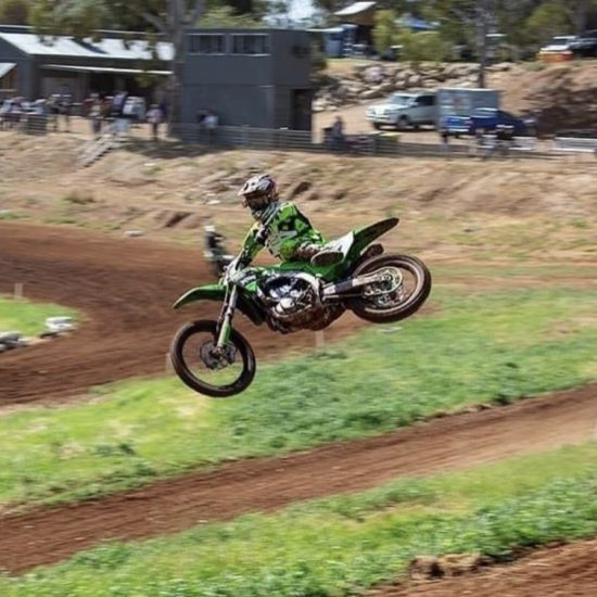 FluoroYellow Motocross gear
