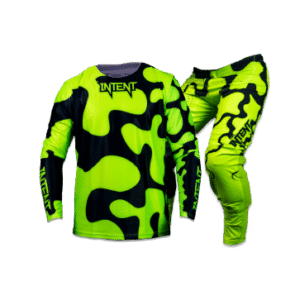 Infinite Moto Gear Set | JigSaw – FluoroYellow/Black