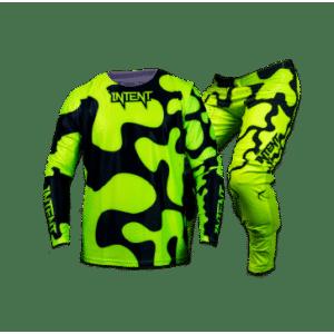 Infinite Jigsaw Gear Combo – FloYellow | Mx Gear, Mx Gloves & Optic Dirt Bike Goggles