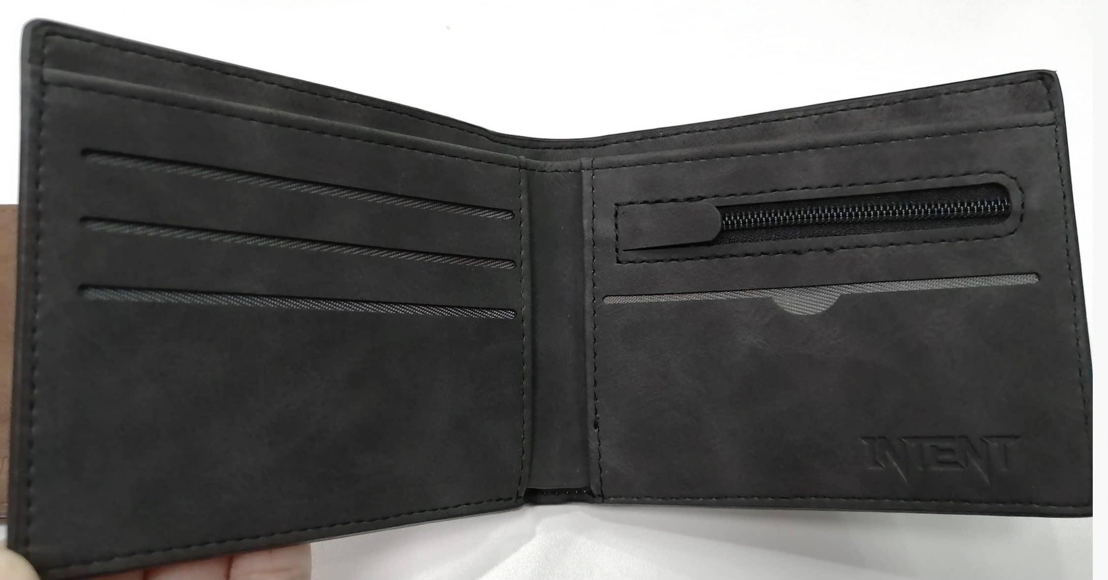 CC Wallet   Legacy – Charcoal Grey