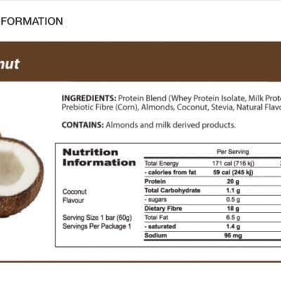 Protein Bar | Coconut