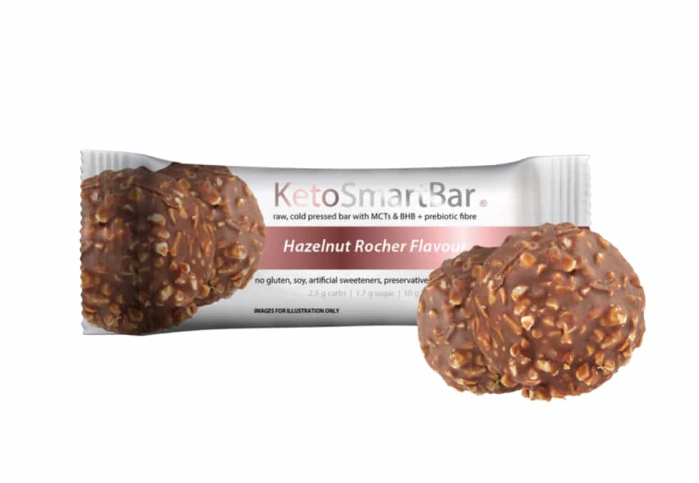 Hazelnut Rocher Keto Bars | Smart Diet Solutions