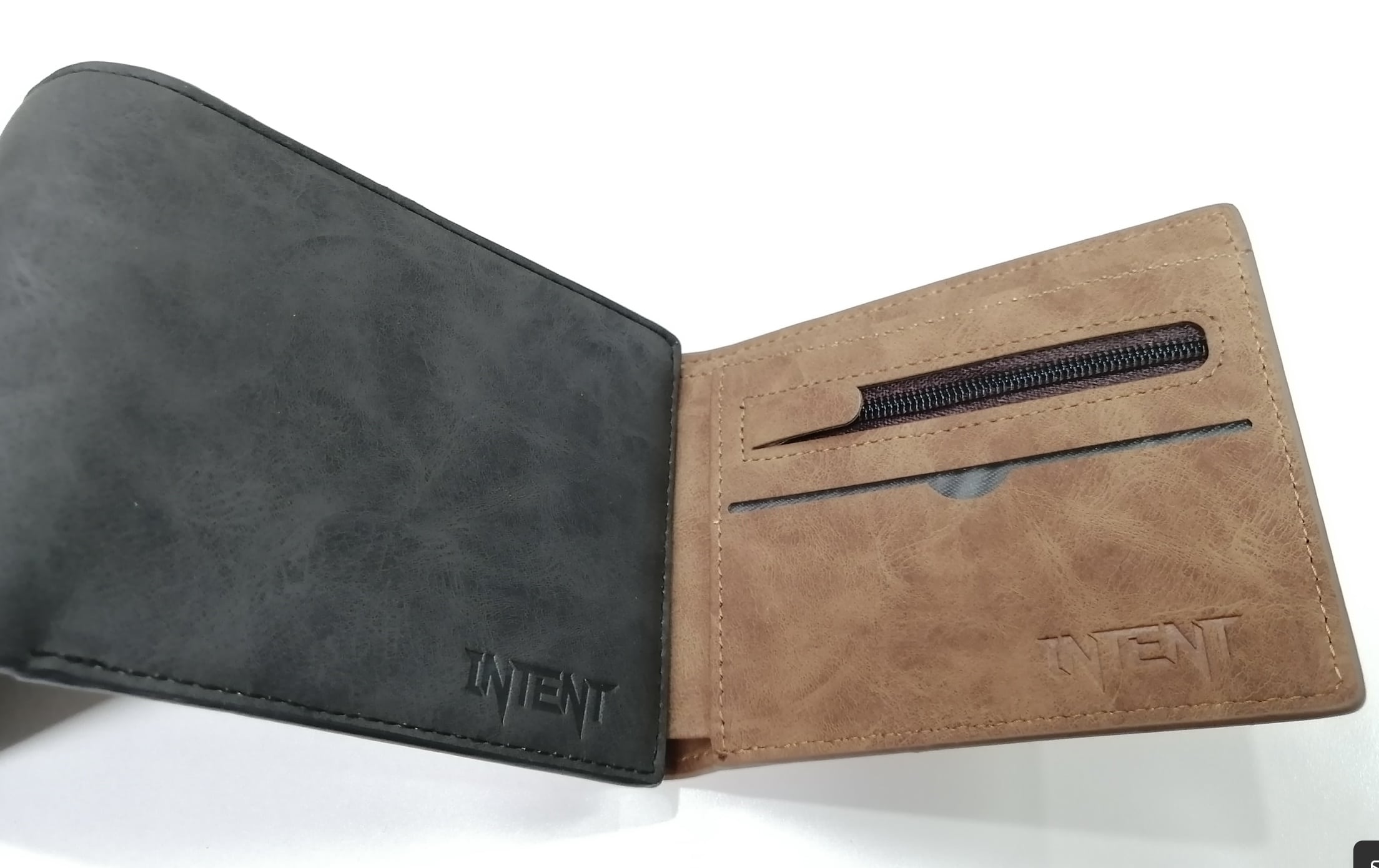 Intent Mx CC Leagy Wallet – Coffee Brown
