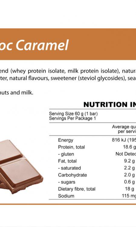 Protein Bar   Peanut Choc Caramel