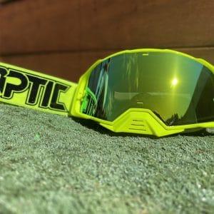 Optic Platinum Goggle | Solid – FloYellow/Black