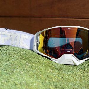 Optic Platinum Goggle | Solid – White/White