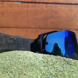 Optic Platinum Goggle | Solid – Black/Black